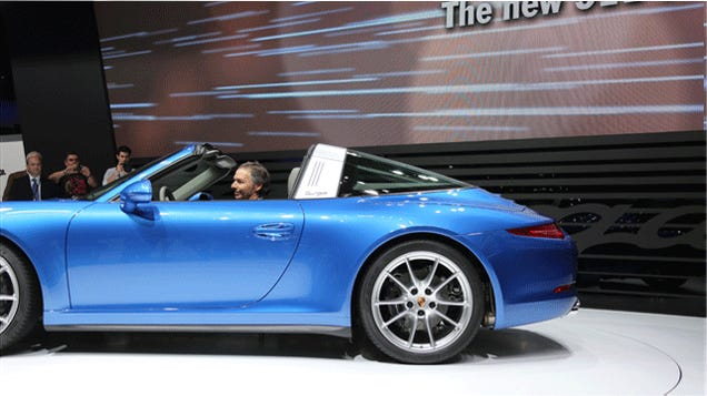Porsche Built A Robot That Lives In Your Car And Steals Your Roof