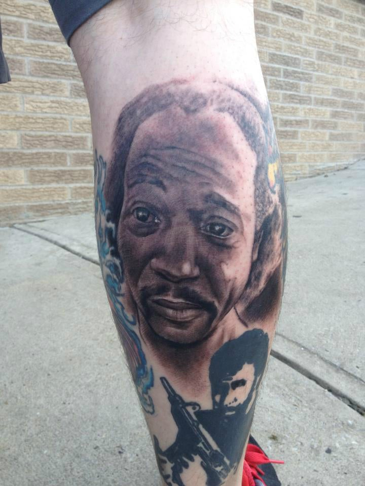Here Is a Real Tattoo of Charles Ramsey's Face