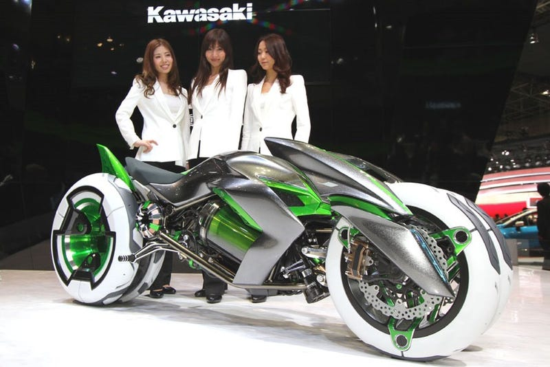 Kawasaki wants to sell, Transformers watching, millennials some bikes
