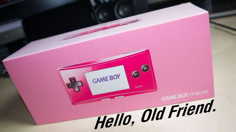 You're Just In Time For A Game Boy Micro Unboxing