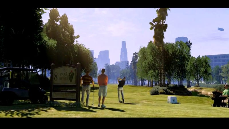 The coolest things from the GTA 5 trailer