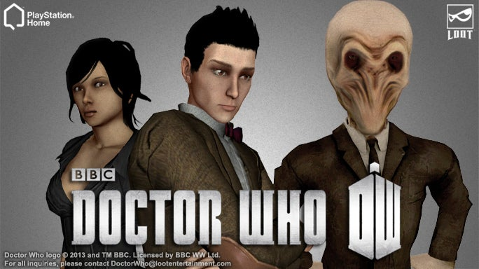 I Can't Tell if Doctor Who Makes PlayStation Home More Creepy or Less Creepy
