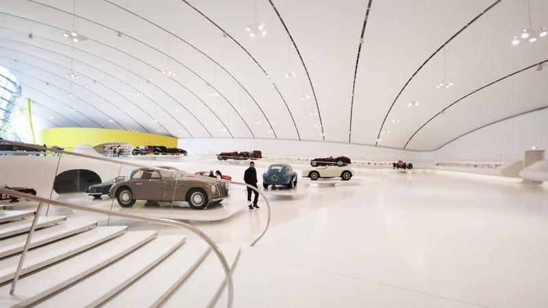 Take A Tour Of Ferrari's Stunning $17.6 Million Aluminum-Skinned Museum