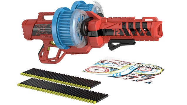 BOOMco's New Dartsplosion Fires 72 Rounds Ensuring Total Dart Supremacy