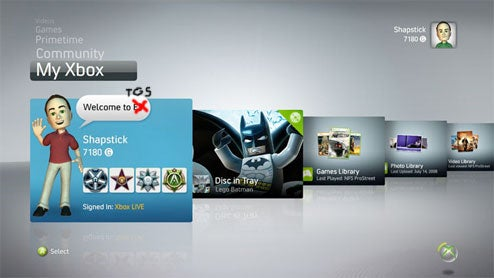 New Xbox Dash Gets Release Date