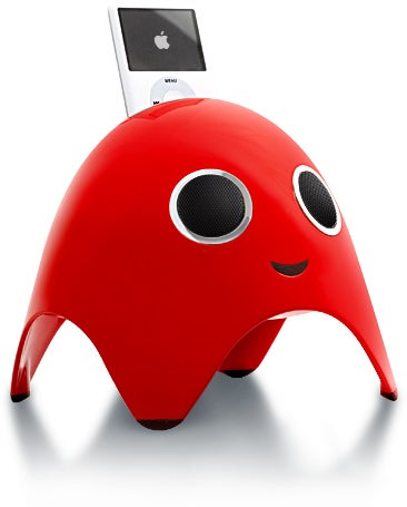 iBoo Holds Your iPod While It Eats Pac-Man Alive