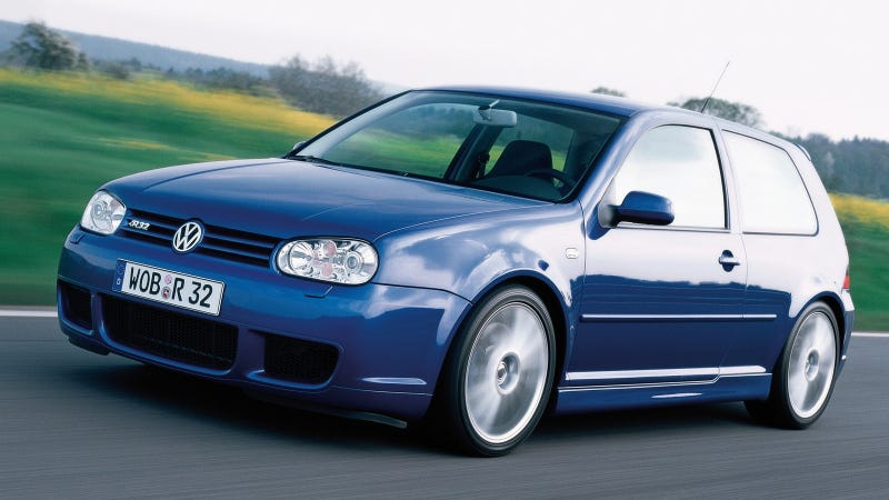 Blue, Fast And Mean: The History Of The Volkswagen R32 And Golf R