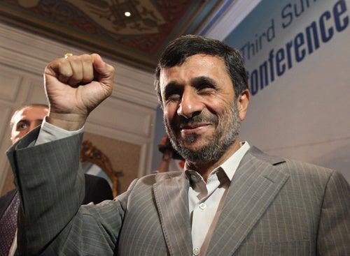 Ahmadinejad's Motorcade Attacked In Iran