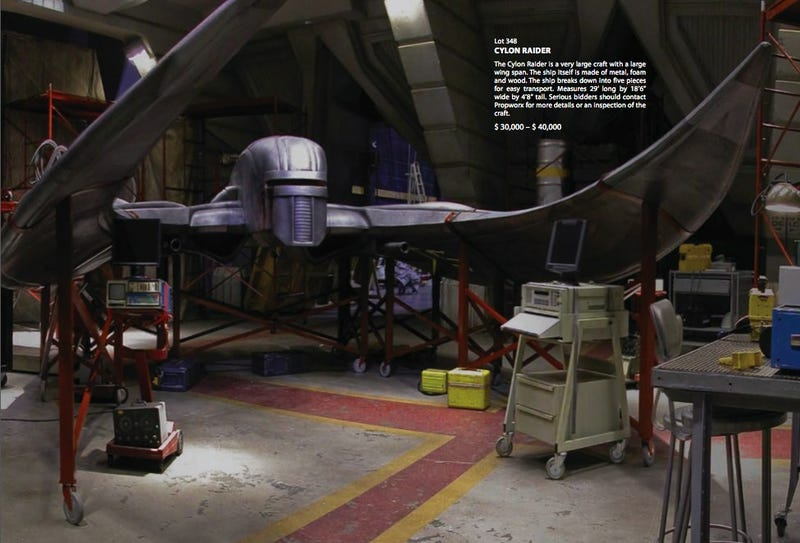 Bid On Battlestar Galactica's Life Size Raider Or The Cylon Resurrection Hot Tub