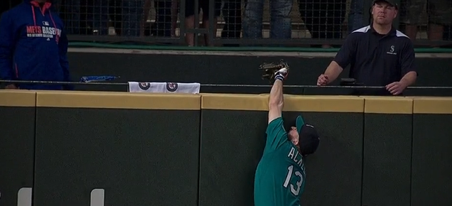 Dustin Ackley Unmoved By His Own Home Run-Robbing Catch