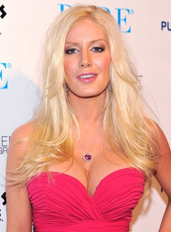 """Along Comes Heidi Montag And You Feel Normal Again."""