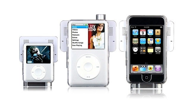 iPod Swing Speakers Are Snap-On, Kinda Neat