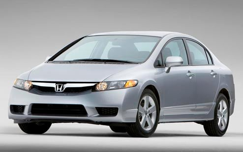 2009 Honda Civic and 2009 Honda Civic Hybrid Officially Revealed