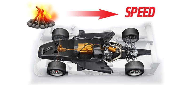 Porsche LeMans Racer Is Attempting To Use The Energy We Lose From Gas