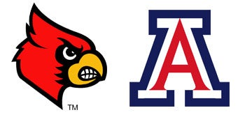 NCAA Sweet 16: (1) Louisville vs. (12) Arizona