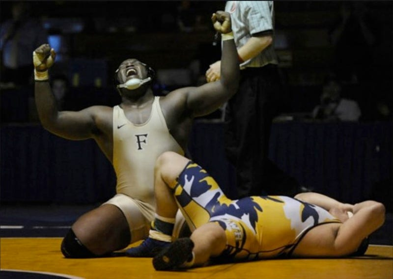 Washington Post Photographer's Award-Winning Wrestling Photo Disqualified For Being Terribly Photoshopped