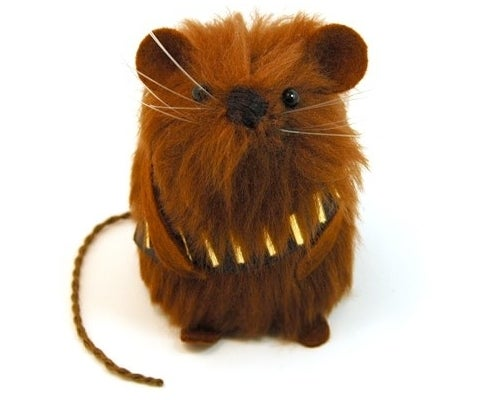 Chewbacca Mouse Cutest Thing To Make Kessel Run In 12 Parsecs