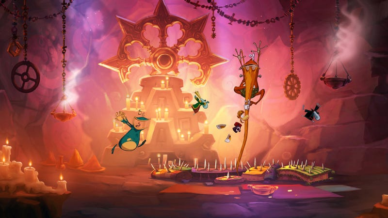 A Hero Returns to His 2D Roots in the Gorgeous Rayman Origins