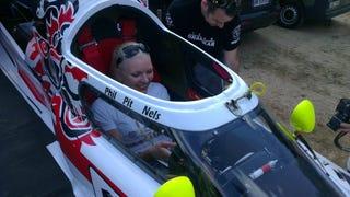 Yvonne Koenig in a Team Drakkar boat?