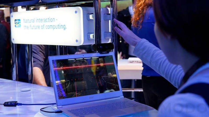 Intel Perceptual Computing Hands-On: I Got Subtracted From the World By the Future of Kinect