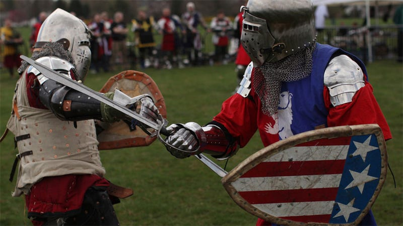 """The """"World Championships"""" Of Medieval Combat Are This Week"""