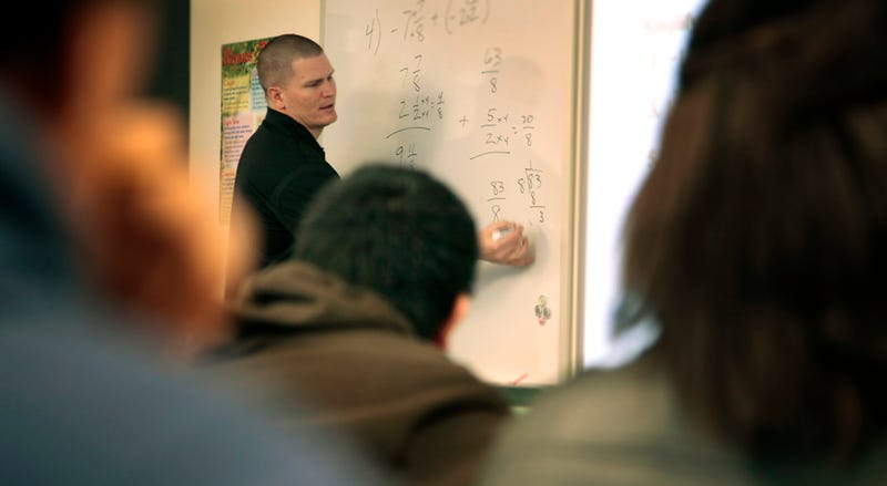 Jon Kitna Loves Being A Math Teacher