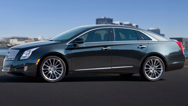 Cadillac XTS: Lord Vader, your cool uncle's luxury sedan has arrived