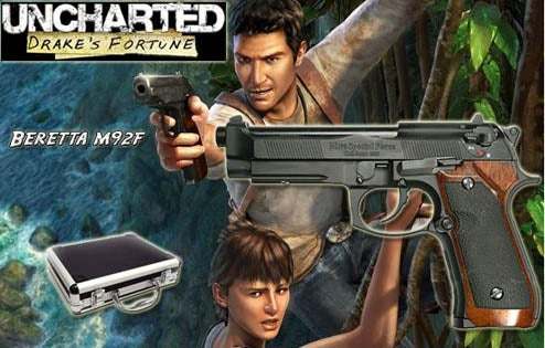 An Uncharted Gun You Can Own