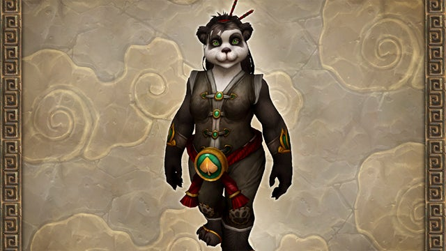 The Lady Version of World of Warcraft's New Panda Race is Kind of Ridiculous