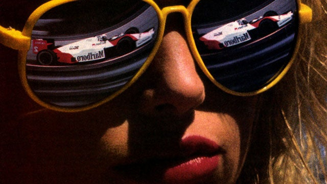 When 'Sexy' Meant 'Fully-Clothed With Expensive Race Cars'