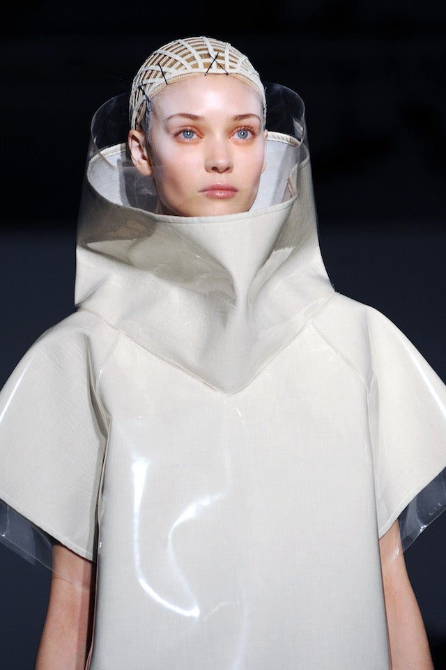 Gareth Pugh: For the Post-Apocalyptic Queen of Garbage Island