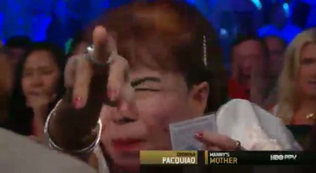 Manny Pacquiao's Mom Wins WBO Welterweight Title Fight