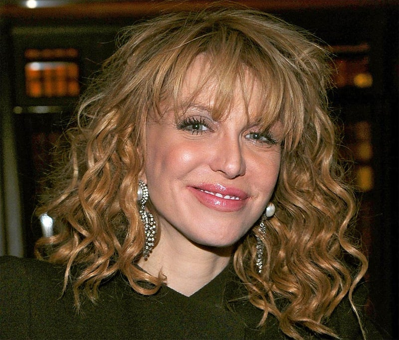 Courtney Love's Slanderous Twitter Account Suspended
