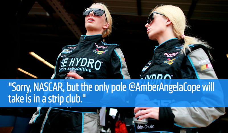NASCAR Fans And Driver Pile On 'Clueless' Female Racer After Race