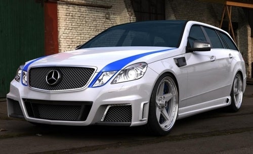 This Mercedes E63 AMG Wagon Is Just For Show
