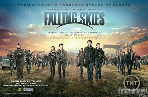 Falling Skies Promotional Art