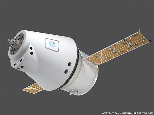 First Look At New Russian-Euro Lunar Capsule