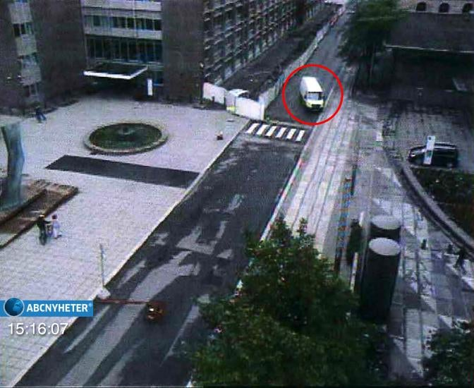 First Images of the Oslo Killer In Action