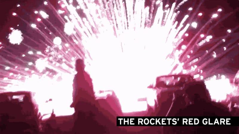 Fireworks Shot into Crowd Injure 28
