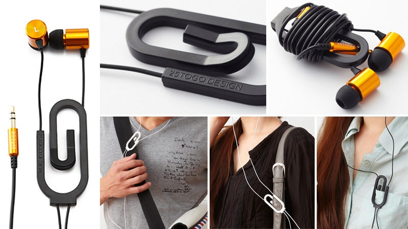 Here's Hoping These Clever Paperclip Headphones Don't Sound Like Crap