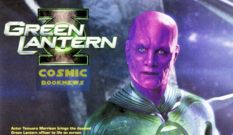 Green Lantern Abin Sur Photo