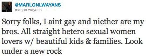 """Wayans Brothers: """"No Homo"""""""