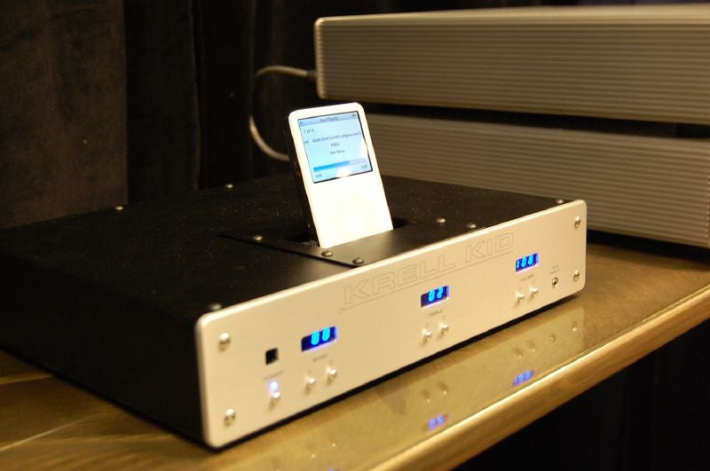Up Close and Personal with Krell's $1,200 iPod Dock