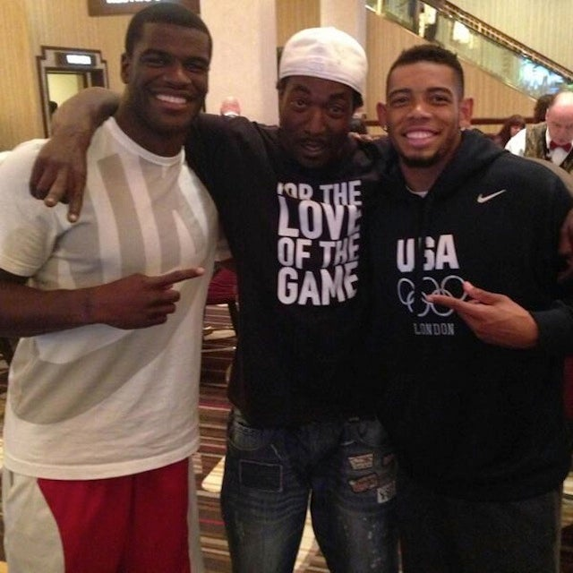 Cleveland Browns Greg Little And Joe Haden Hang With Charles Ramsey