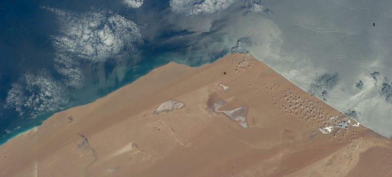 This Satellite Image Looks Like a Cartoon Landscape
