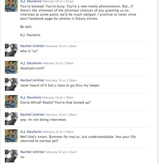 The Saddest Rachel Uchitel Interview In History