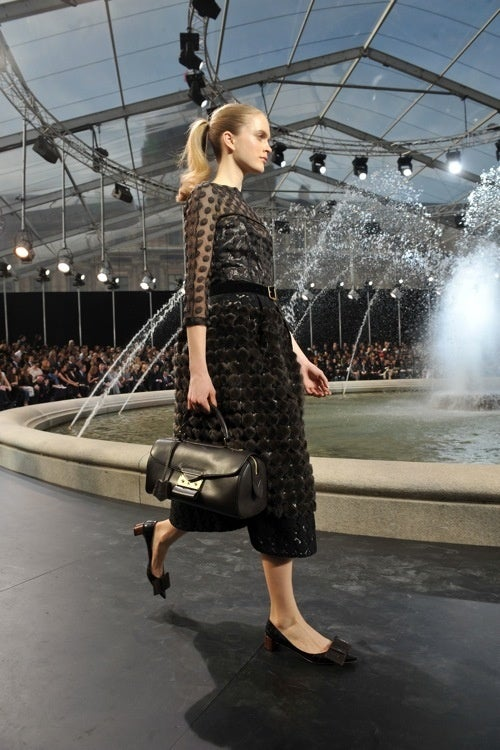 Attack Of The Supermodels Continues At Louis Vuitton