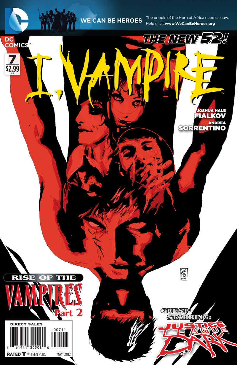 Meet a villain who makes Batman run away, in this preview of DC Comics' I, Vampire