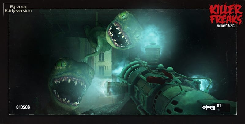 Killer Freaks From Outer Space Isn't Your Average Shooter