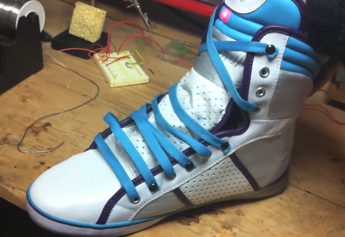 The Second Prototype Of The Power Laces Brings Back To The Future II Shoes Closer To Reality